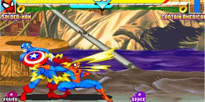 Marvel Super Heroes (CPS2)