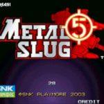 Metal Slug 5 (Neogeo)