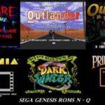 Sega Genesis Roms N – Q