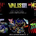 Sega Genesis Roms U – Z
