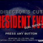 Resident Evil Director's Cut (PSX)