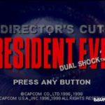 Resident Evil Director's Cut (PSX)