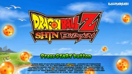 Dragon Ball Z Shin Budokai (PSP) - Download Game PS1 PSP