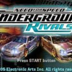 Need For Speed Underground Rivals PSP ISO