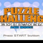 Puzzle Challenge Crosswords (PSP)