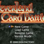 Neverland Card Battles (PSP)