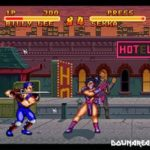 Double Dragon V The Shadows Fall (SNES)