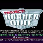 Project Horned Owl PSX Iso