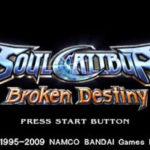 Soulcalibur Broken Destiny PSP ISO