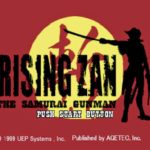 Rising Zan The Samurai Gunman PS1