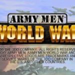 Army Men World War PS1