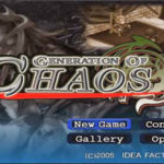 Generation of Chaos Iso (PSP)