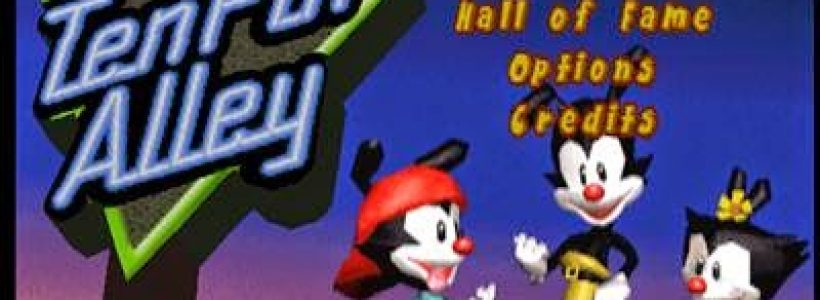 Animaniacs Ten Pin Alley Iso PS1