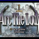 Arc The Lad Iso PS1