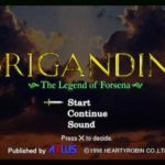 Brigandine Legend of Forsena Iso PS1