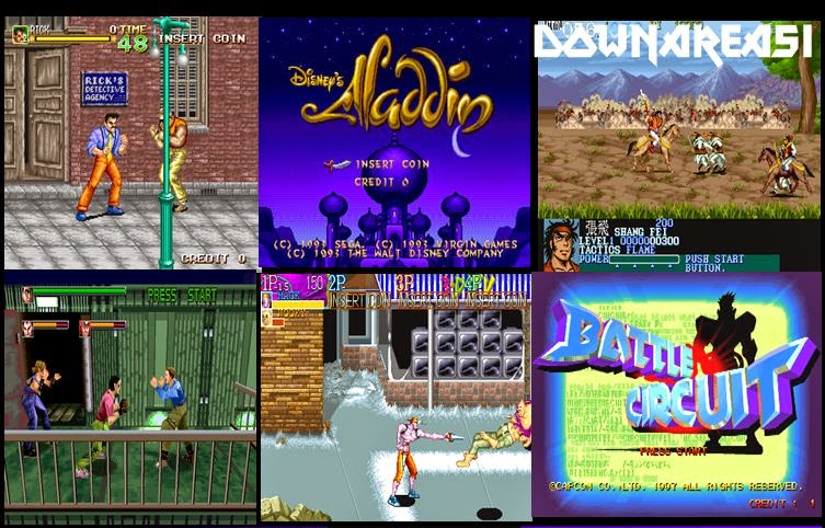 56 In 1 Mame 32 0 119 Roms Pack Collection : Adventure
