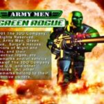 Army Men Green Rogue PS1
