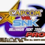 Capcom Vs SNK Millenium Fight 2000 Pro PS1 ISO