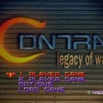 Contra Legacy of War PSX