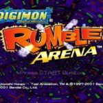 Digimon Rumble Arena Game PS1