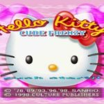 Game for Girl Hello Kitty Cube Frenzy PS1