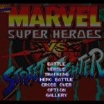 Marvel Super Heroes Vs Street Fighter Iso PS1