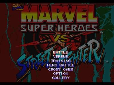Marvel Super Heroes Vs Street Fighter Iso PS1 - Download ...