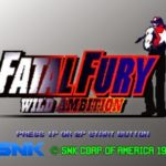 Fatal Fury Wild Ambition PS1 ISO