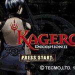 Kagero Deception II PS1 ISO
