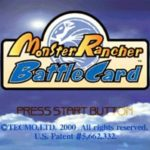 Monster Rancher Battle Card PS1