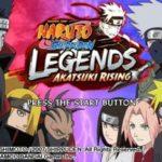 Naruto Shippuden Legends Akatsuki Rising PSP ISO