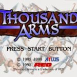Thousand Arms PS1 ISO