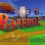 3D Baseball PS1 ISO