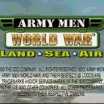 Army Men World War Land Sea Air PS1 ISO
