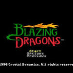 Blazing Dragons PS1 ISO