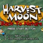 Harvest Moon Back to Nature PS1 ISO