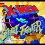 X Men Vs Street Fighter PS1 ISO