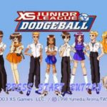 XS Junior League Dodgeball PS1 ISO