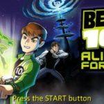 Ben 10 Alien Force PSP ISO