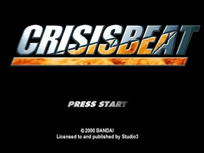 Crisis Beat PS1 ISO - Download Game PS1 PSP Roms Isos