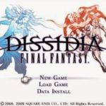Dissidia Final Fantasy PSP ISO