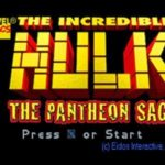 The Incredible Hulk Pantheon Saga PS1 ISO