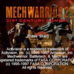 Mechwarrior 2 PS1 ISO
