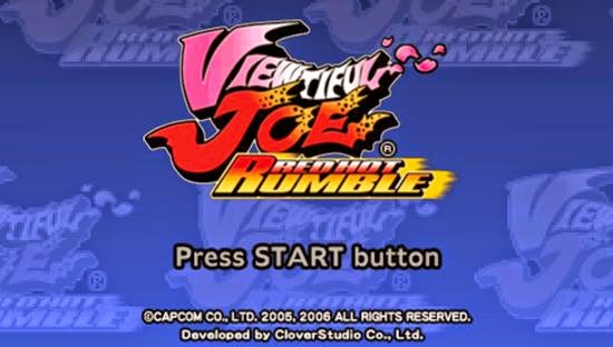 Viewtiful Joe Red Hot Rumble PSP ISO - Download Game PS1 PSP Roms