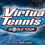 Virtua Tennis World Tour PSP ISO