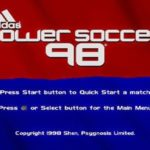 Adidas Power Soccer 98 PS1 ISO
