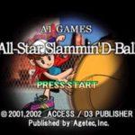 All Star Slammin D Ball PS1 ISO