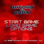 Batman And Robin PS1 ISO