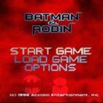 Batman And Robin PS1 ISO