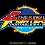 The King of Fighters 94 – 98 Portable Chapter of Orochi PSP ISO